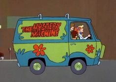 Scooby Doo and the gang cruising in The Mystery Machine. Scooby Doo Tv Show, New Scooby Doo, Scooby Doo 1969, Desenho Scooby Doo, Scooby Doo Images, Scooby Doo Mystery Incorporated, Tv Themes, Gifs, Saturday Morning Cartoons