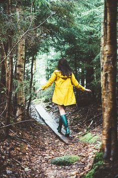 Walking in the woods...what i like to do alot