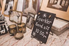 Photo from austen + kayla {i do} part four collection by Lindsey Brown Photography Sparkler Send Off, Something Borrowed, Vintage Shabby Chic, Sparklers, Rustic Chic, The Borrowers, Rustic Wedding, Wedding Decorations, Brown