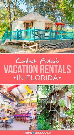 travel destinations florida 10 of the Coolest Airbnb Vacation Rentals in Florida Florida Usa, Places In Florida, Visit Florida, Florida Travel, Florida Beaches, Travel Usa, Florida Rentals, Vacation In Florida, Sarasota Florida