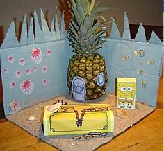 Spongebob sinterklaas suprise Reborn Dolls, Reborn Babies, Baby Dolls, Spongebob, Homemade Christmas Crafts, Newspaper Basket, Cardboard Art, Valentine Box, Funny Tattoos