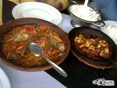 Gami Bawis    Makanan Khas Bontang Kuala - Kaltim, berupa ikan yang disiram dengan kuah sambal & disajikan panas2 seperti steak :) .