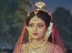 Bhanupriya as maneka Bollywood Stars, Indian Beauty, Desi, Braids, Beautiful Women, Princess Zelda, Crown, Fashion, Good Looking Women