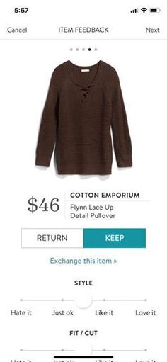 Limited time - styling fee waived!!! Stitch Fix Fashion trends 2017 2018. Ask your stylist for items like this when you SIGN UP TODAY!! Click this picture. Fall & Winter Fashion! #sponsored #stitchfix #TodaysFashionTrends