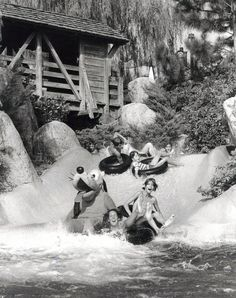 River Country Back in the day via @wdwfacts Pluto on the White Water Rapids Ride