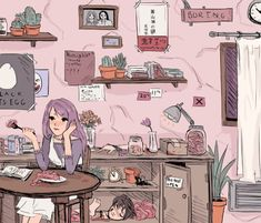 Rize room - Tokyo Ghoul