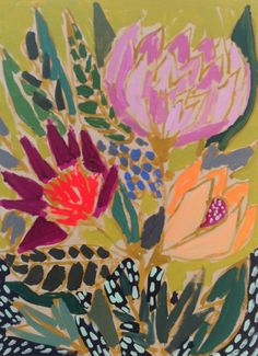 Lulie Wallace: reminds me a bit of a floral Matisse