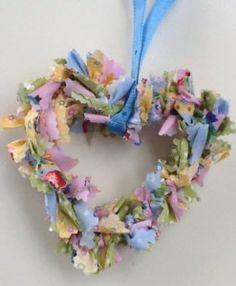 Corazón de tela reciclada_1