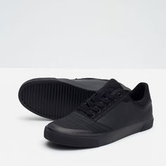 10aaf2f6d82a SINGLE COLOUR SNEAKERS WITH TOE CAP - View all - Special Prices - MAN