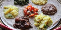Apparently the DC area has a large and thriving Ethiopian population, which results in lots of restaurants - here are some recommendations from the Washington Post.