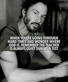 life test god teacher quiet during test qoutes lifequotes motivation positivevibes thoughts Wise Quotes, Quotable Quotes, Great Quotes, Quotes To Live By, Motivational Quotes, Funny Quotes, Inspirational Quotes, Chill Out Quotes, Faith Quotes