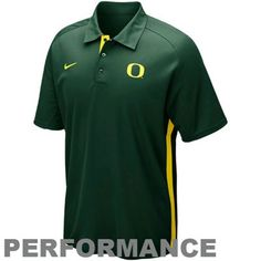 Nike Oregon Ducks Elite Force 2012 Coaches Sideline Performance Polo - Green #FanaticsSummerWishList
