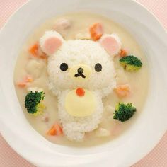 Rice food art