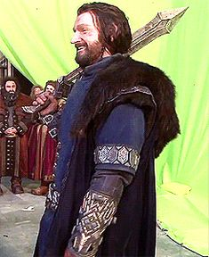 Thorin and watch the female dwarf in the background.