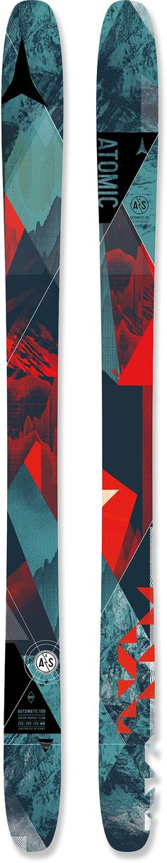 Atomic Unisex Automatic 109 Skis - Men's