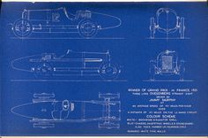Duesenberg, 1921 French GP winner | SMCars.Net - Car Blueprints Forum
