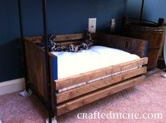 DIY Dog bed. Sooo Simple & easy instructions!