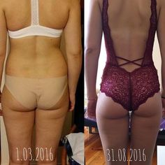 6 months - eat clean and workout!