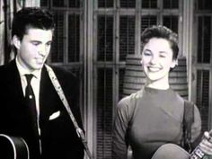 Ricky Nelson and Lorrie Collins- Just Because so cute and sad :'(