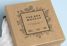 Friends, today's design resource is a Square Cardboard Box Free PSD MockUp. This high quality PSD mockup is perfect for creating a flawless presentation for your next packaging design projects. Available in PSD Photoshop format with smart object feature, so you can easily place your design on the box. It also file gives you complete control for customizing the background color .