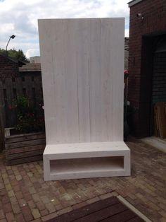 tv meubel steigerhout - Tv Wand