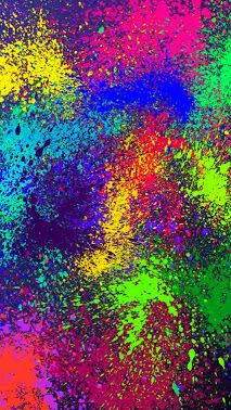To do this you just get a bunch of neon spray paint. You spray it on the paper and let it dry! This is great for little kids! Wear something to cover your clothing while doing this craft Colours Wallpaper, Painting Wallpaper, Colorful Wallpaper, Photo Wallpaper, Colorful Backgrounds, Trippy Iphone Wallpaper, Rainbow Wallpaper, Wallpaper Backgrounds, Neon Spray Paint