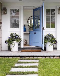 A beautiful Dutch door lends modern farmhouse charm to any home. Here are 10 jaw-dropping examples that will convince you to add a Dutch door to your Front Door Design, Front Door Colors, Building A Shed, Building Plans, Better Homes, Curb Appeal, Front Porch, Exterior Design, Beautiful Homes