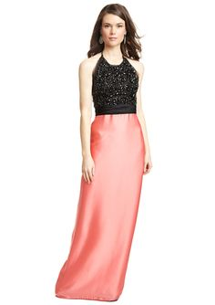 MIGNON Twofer Gown with Jeweled Top - @ideeli - Love this!! #pretty #fashion