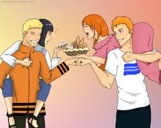 NaruHina - IchiHime | You did good by Velvet-desert on DeviantArt