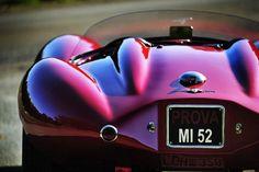 Alfa Romeo Disco Volante rear view
