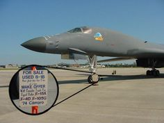 B-1B FOR SALE