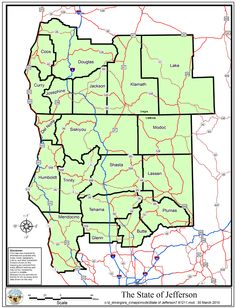 Jefferson The 51st State Northern California Southern Oregon
