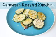 This parmesan roasted zucchini recipe is perfect for using up all that extra zucchini in your garden this summer. Makes a great side dish!