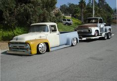 1956 Ford F100 Unibody Dually