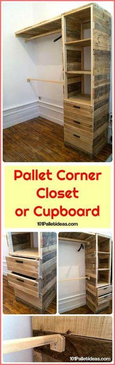 Pallet-Corner-Closet-or-Cupboard.jpg 720×2,274 pixels