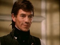 Ian McKellen as Chauvelin in The Scarlet Pimpernel, 1982. Best Chauvelin ever.