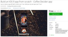Build an IOS 9 app from scratch - Coffee Decider app http://ift.tt/1YHHs37  #udemy #coupon #discount