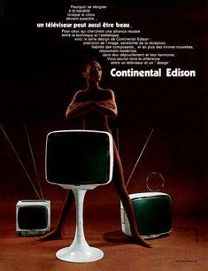 Publicité Continental Edison 1971