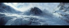 mountain matte painting - Google Search