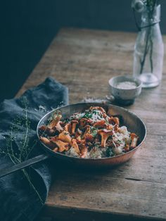 kanttarellikvinoa