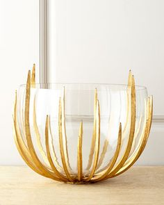 Gold Star-Struck Bowl by John-Richard Collection at Neiman Marcus.