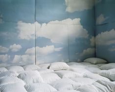 In a room where you can sleep on a cloud. | Community Post: 44 Amazing Places You Wish You Could Nap Right Now