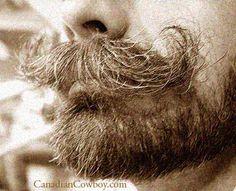 Moustache Before Wax