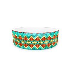 Kess InHouse Pom Graphic Design Tribal Soul Pet Bowl 7Inch -- Continue to the product at the image link.