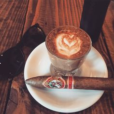 Cigars and coffee
