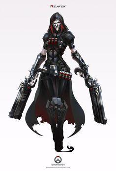 Overwatch - Reaper by MonoriRogue - For Rachel