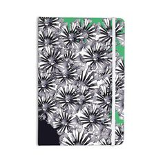 Kess InHouse Sonal Nathwani Inky Black and White Flowers Shower Curtains Black And White Flowers, Creative Design, Everything, Floral Design, Stationery, Notebook, How To Apply, Green, Artwork