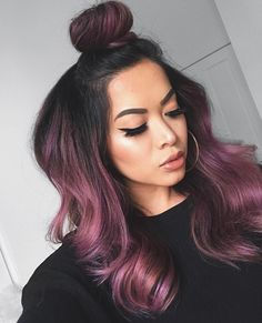 Rose gold hair color is here to stay and we are living for it! Read on for ideas on how to turn your rose gold hair color dreams into a reality. Gold Hair Colors, Hair Dye Colors, Ombre Hair Color, Cool Hair Color, Violet Hair Colors, Cute Hair Colors, Hair Color Ideas, Change Hair Color, Different Hair Colors