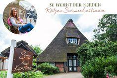 So wohnt der Norden: Katjas Sommerhustraum - Förde Fräulein Interior Homestory Reetdachhaus Reetdachkate Schleswig-Holstein wohnen Vintage Retro