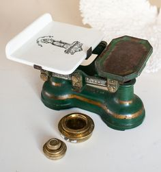 Victorian English Scale & Weights
